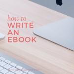 Hoe een ebook schrijven